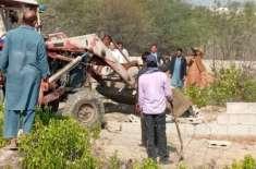 اسسٹنٹ کمشنر دینہ اور ایس ڈی او آر کا قلعہ روہتاس میں ناجائز تجاوزات ..