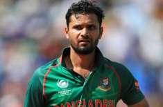 سابق بنگلہ دیشی کپتان مشرفی مرتضی کا کرونا ٹیسٹ مثبت آگیا