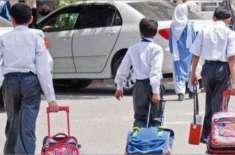 پنجاب میں نجی اسکولوں کو ہفتے میں دو بار کھولنے کی اجازت