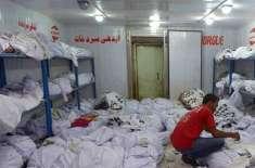 کورونا وائرس سے مبینہ ہلاکتوں کی وجہ سے کراچی کے سرد خانے بند کردیئے ..