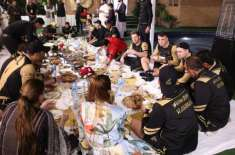 PSL5, Outing of foreign cricketers, eating indigenous food Karachi Kings' Dinner at the Dima Pakht and Dera Ismail Khan's ..