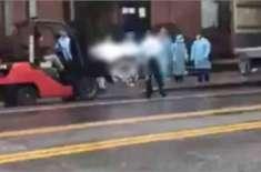 نیویارک، ایک ہی دن میں 914 ہلاکتوں کے بعد لاشوں کو ٹرک میں بنے ہوئے سرد ..