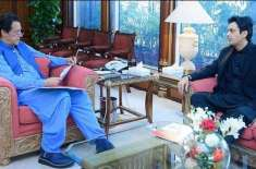 وزیر اعظم عمران خان سے معاون خصوصی برائے امور نوجوانان عثمان ڈارکی ..