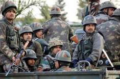 بھارت نے پاکستان کیخلاف کسی بھی وقت جنگ شروع کرنے کیلئے اپنی تمام مسلح ..
