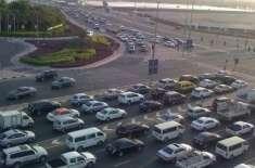 متحدہ عرب امارات میں نئے ٹریفک قوانین لاگو ہو گئے