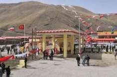ایران اور ترکی نے بازرگان کا سرحدی راستہ تجارتی مقاصد کے لیے دوبارہ ..