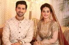 ایمن خان سے شادی ظاہری خوبصورتی دیکھ کر نہیں بلکہ باطنی خوبصورتی کی ..