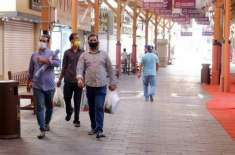 ابوظہبی میں لوگوں کو ایمرجنسی صورتحال اور ضروری کاموں کیلئے بنا اجازت ..