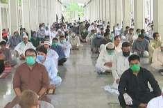 ملک بھر میں عید الفطر مذہبی عقیدت و احترام کے ساتھ منائی گئی' کورونا ..