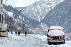 سوات سمیت ملک کے مختلف شہروں میں موسم سرما کی پہلی برفباری