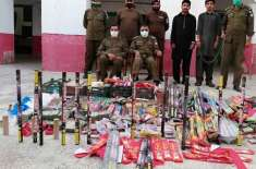 مجرمان کے خلاف جہلم پولیس کی کاروائیاں جاری، اسلحہ، شراب برآمد،ملزمان ..
