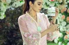 سعدیہ خان نے کپڑوں کے برانڈ ''ایزور'' کے لیے فوٹو شوٹ مکمل کروا لیا
