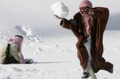 سعودی عرب میں جاتی ہوئی سردی پھر سے پلٹ آئی