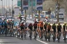 ایکواڈور کے جوناتھن کیسیڈو نے گیرو ڈی اٹالیہ سائیکل ریس کا تیسرا مرحلہ ..