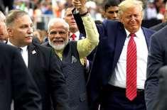بھارت ہمارے ساتھ اچھا سلوک نہیں کرتا .ڈونلڈ ٹرمپ