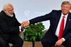 امریکی صدر کا مسلہ کشمیر پر مودی سے بات کرنے کا عندیہ