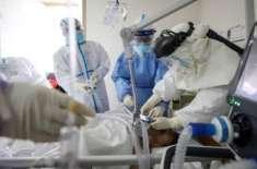 کورونا وائرس سے متاثرہ افراد کی تعداد ایک لاکھ18 ہزار سے تجاوز کر گئی