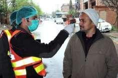 سرگودہا'ریسکیو 1122نے کرونا وائرس سے مریضوں کے بچائو کیلئے عملی مشقوں ..