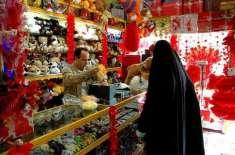 سعودی عرب میں عوام پہلی بار ویلنٹائن ڈے کھُل کر منا رہی ہے