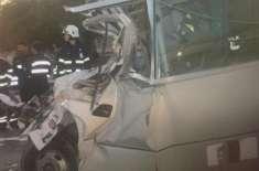 ابو ظہبی میں بس کو پیش آنے والے ہولناک حادثے کے حوالے سے مزید حقائق ..