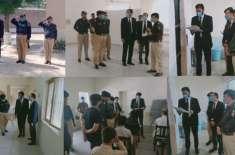 ڈسٹرکٹ اینڈ سیشن جج چکوال کا ڈسٹرکٹ جیل جہلم کا دورہ،جیل میں کیے گئے ..