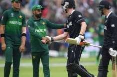 پاکستان کے خلاف ٹی ٹونٹی سیریز کے لیے نیوزی لینڈ کی ٹیم کا اعلان