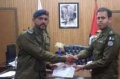 ڈسٹرکٹ پولیس آفس جہلم میں تعریفی اسناد کی تقسیم کے حوالے تقریب کا انعقاد