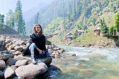 کبری خان  کشمیر کی خوب صورتی میں گم ہوگئیں