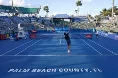 ڈیلرے بیچ اوپن ٹینس ٹورنامنٹ، سیکنڈ سیڈڈ میلوس رائونک نے مینز سنگلز ..
