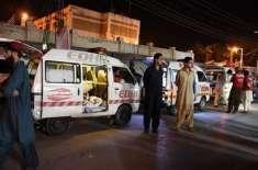 کراچی میں پر اسرار زہریلی گیس سے6 افراد ہلاک اور 100 سے زائد متاثر
