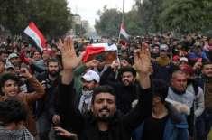 عراق میں 24گھنٹوں کے دوران 10 مظاہرین ہلاک،