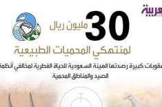 سعودی عرب میں مچھلی کے شکار پر 30 لاکھ ریال کا جرمانہ ہو گا