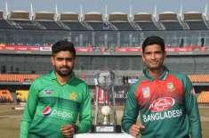 پہلے ٹی ٹونٹی میچ میں پاکستان نے بنگلہ دیش کو 5 وکٹوں سے شکست دے دی