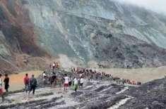 میانمار میں مٹی کے تودے گرنے سے ہلاک ہونے والوں کی تعداد96 ہو گئی