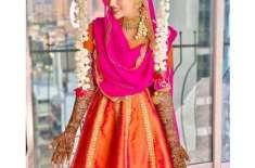 سابق بھارتی اداکارہ ثناء خان نے مہندی کی تقریب کی تصاویر سوشل میڈیا ..