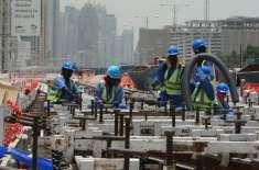 متحدہ عرب امارات کا دھوپ میں کام کرنے والے مزدوروں کو دوپہر کے اوقات ..
