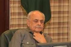 اعجاز احمد شاہ کی پشاور میں مدرسے پر حملے کی شدید الفاظ میں مذمت