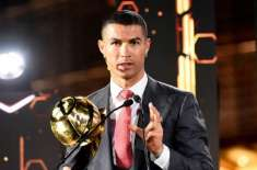 دٴْنیائے فٹ بال کے نامور کھلاڑی کرسٹیانو رونالڈو نے پلیئر آف دی سنچری ..