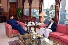 عمران خان اور پرویز الہیٰ میں کشیدگی