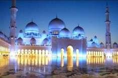 متحدہ عرب امارات میں مساجد میں نماز جمعہ سمیت تمام نمازوں کی ادائیگی ..