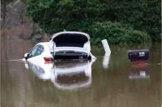 امریکی ریاست میسپی میں سیلاب کے باعث بڑے پیمانے پر تباہی ، درجنوں گھر ..
