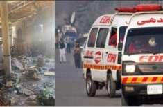 مدرسہ دھماکے میں زخمی ہونے والی کی زیادہ تعداد جھلسے ہوئے افراد کی ..