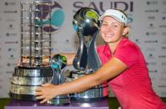 سعودی عرب،خواتین کا دوسرا گالف ٹورنامنٹ بھی ڈینش گالفر نے جیت لیا