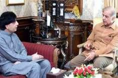 سابق وزیر داخلہ چوہدری نثار علی خان جاتی امراء پہنچ گئے