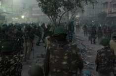 بھارتی دارالحکومت نئی دہلی میں صورتحال مزید بگڑ گئی