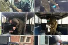 ڈسٹرکٹ پولیس جہلم کے کرونا وائرس سے بچاؤ کیلئے حفاظتی انتظامات جبکہ ..