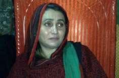 مقتولہ ایم پی اے شہناز انصاری کی بیٹی کا سیاست میں آنے کا اعلان