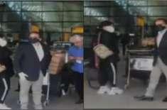 نواز شریف کے ذاتی معالج ڈاکٹر عدنان پاکستان واپس پہنچ گئے، مریم نواز ..