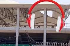 ریت کے طوفان سے نیشنل سٹیڈیم کراچی کی ٹیفلون چھتوں کو نقصان