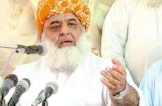 میں سیاسی لوگوں اور فوج کی قیادت میں سب سے سینئر ہوں، مولانا فضل الرحمان